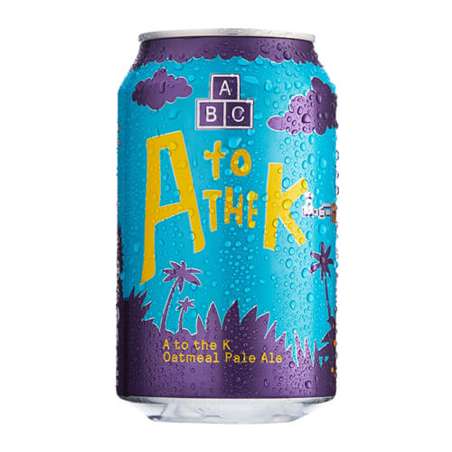 Alphabet A to the K Oatmeal Pale - 24 x 330ml