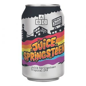 Alphabet Juice Springsteen Tropical Pale - 24 x 330ml cans