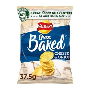 Walkers Baked Cheese & Onion 37.5g x 32
