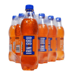 One of the worlds most famous soft drinks is her at WDS at a bargain price. Launched in 1901 in Scotland, IRN-BRU is a carbonated soft drink made to an original secret recipe that took the world