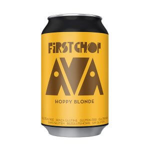 First Chop AVA Gluten Free Hoppy Lager - 24 x 330ml