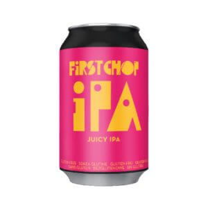 First Chop IPA Gluten Free Juicy IPA - 24 x 330ml