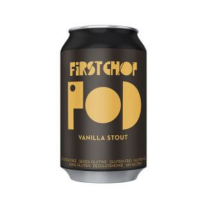 First Chop POD Gluen Free Vanilla Stout - 24 x 330ml