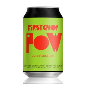 First Chop POW Gluten Free Juicy Session - 24 x 330ml