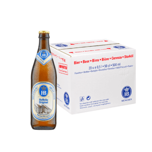 Hofbrau Original Helles Lager 500ml x 20 5.1% German Beer