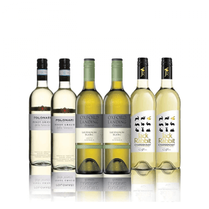 Mixed Selection of White Wines - 6 Bottle Case (75cl)