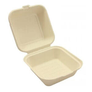 Bagasse Burger Box x 250