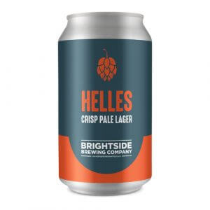 Brightside Helles Pale Lager - 12 x 330ml