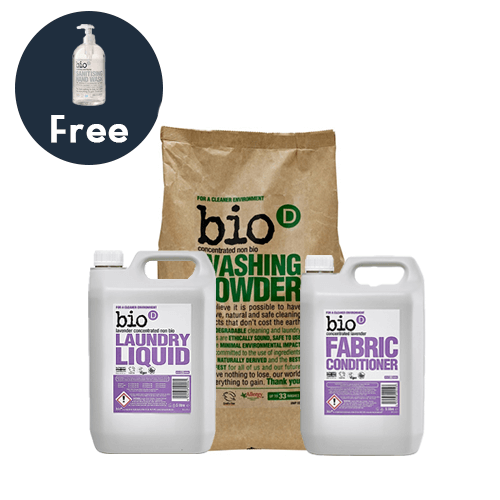 Bio-D Laundry Bundle | Vegan Cleaning | Chemical Free Cleaning Product