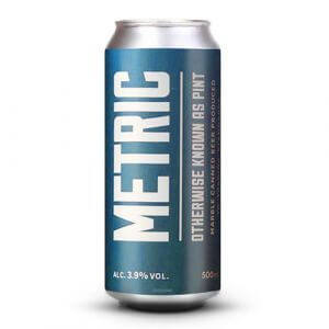 Marble Metric (Pint) Session Ale - 24 x 500ml