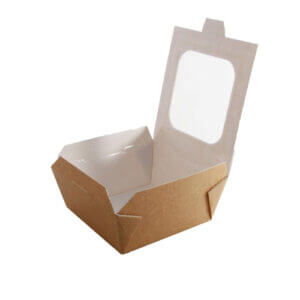 Medium Hot Food Box with Window x 20