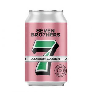 Seven Brothers Amber Lager - 12 x 330ml