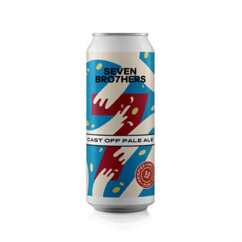 Seven Brothers Cast Off Pale Ale - 12 x 440ml