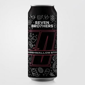 Seven Brothers Marshmallow Stout - 12 x 440ml
