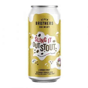 Seven Brothers Sling it Out Stout - 12 x 440ml