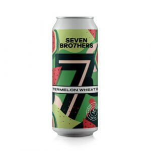 Seven Brothers Watermelon Wheat Beer - 12 x 440ml