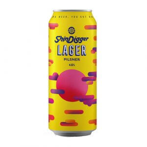 Shindigger Lager - 12 x 440ml