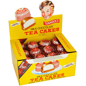 Tunnocks Tea Cake Real Milk Chocolate 36 x 24g Box | Tasty Snack