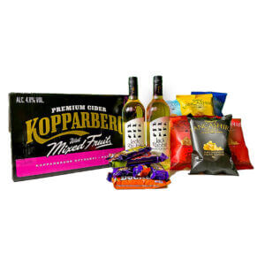 The Perfect Night In Bundle Three- Cider | Wine | Crisps | Chocolate