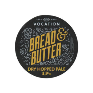 Vocation Bread and Butter Dry Hopped Pale 30ltr Keg - 3.9% ABV